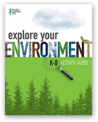 Cover image of Project learning tree environmental exploration guidebook