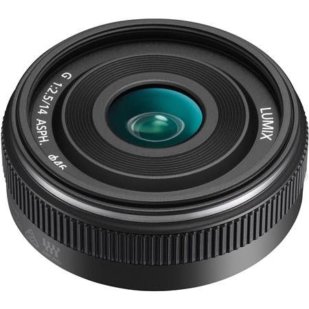 Lumix G 14mm f/2.5 II Aspherical II Lens for Micro Four Thirds