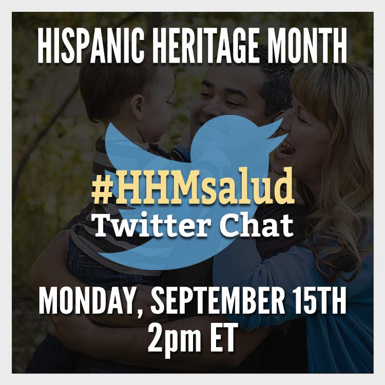 Hispanic Heritage Month Twitter Chat