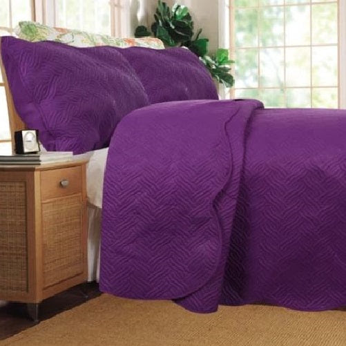 Quilted Coverlet Bedspread Set