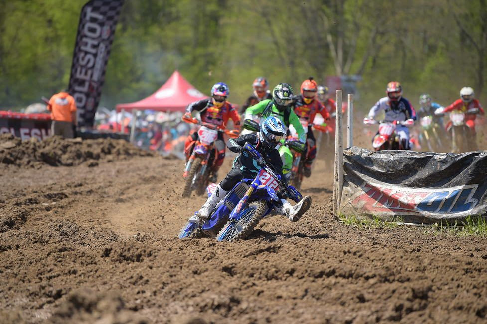 Ricky Russell grabbed the All Balls Racing XC1 holeshot award at X-Factor Whitetails GNCC, and will look to grab that $250 once again.