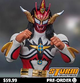 New Japan Pro-Wrestling Jyushin Thunder Liger 1/12 Scale Figure