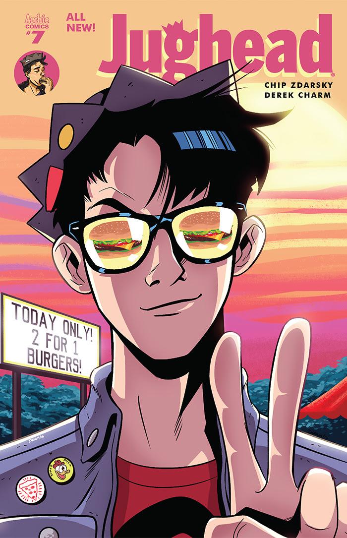 Jughead #7 Cover by Derek Charm
