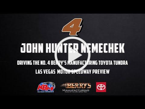 John Hunter Nemechek   Las Vegas Motor Speedway Preview