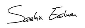 Unterschrift: Saskia Esken