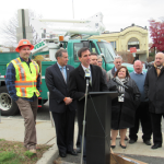 Mayor Noam Bramson launches street light replacement