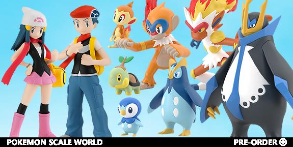 Pokemon Scale World
