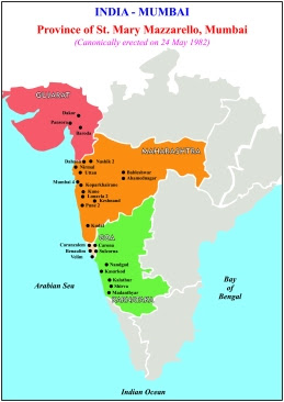 India Map a4