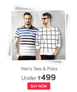 Men's Tees & Polos