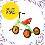 Ideal Toy T-Bar Tricycle