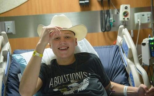 Prolife-teen-Jeremiah-Thomas-wears-cowboy-hat