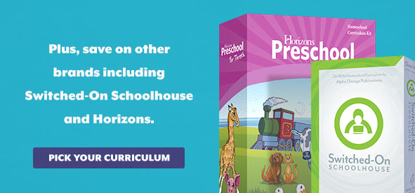 Save 20% on Switched-On Schoolhouse and Horizons in April