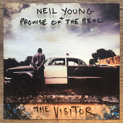 NY The Visitor Album artwork