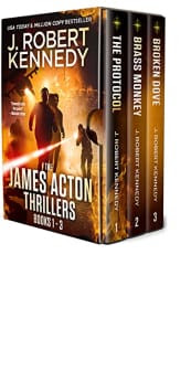 A James Acton Thriller Box Set: Books 1–3 by J. Robert Kennedy
