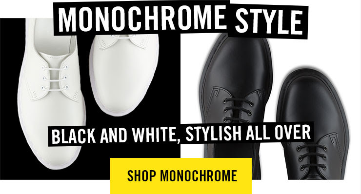 MONOCHROME STYLE - Black and white and stylish all over - Shop monochrome