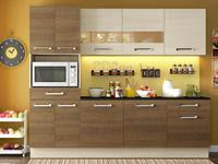 Cozinha Compacta Madesa Glamy Rubi com Balcão