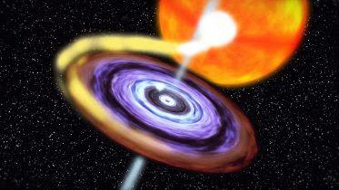 OSIRIS-REx Observes a Black Hole