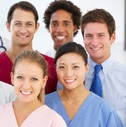Photo of public health professionals