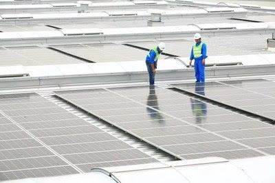 Aeroporto Internacional de Pequim Daxing, alimentado pela Huawei Fusion Solar (PRNewsfoto/Huawei)