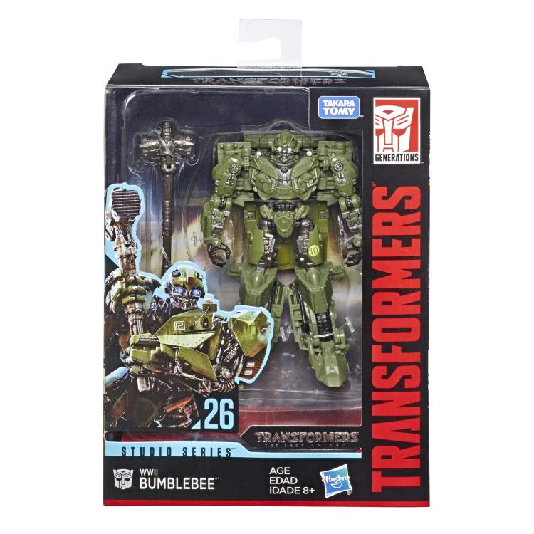 Image of Transformers Studio Series Premier Deluxe Wave 5 - Deluxe WWII Bumblebee - JANUARY 2019
