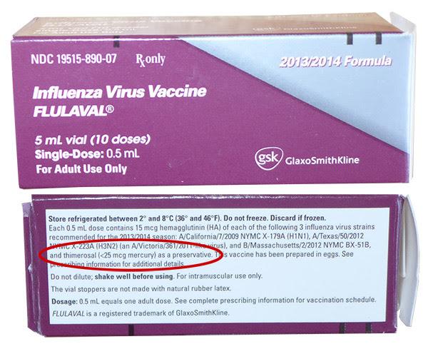 Influenza Virus Vaccine Flulaval Box Mercury Preservative 600 - vacunas preguntas que nunca te permitirán realizar