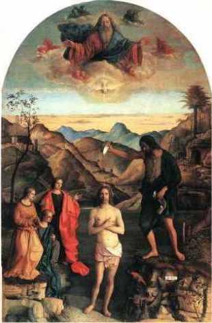Chrzest Chrystusa w Jordanie