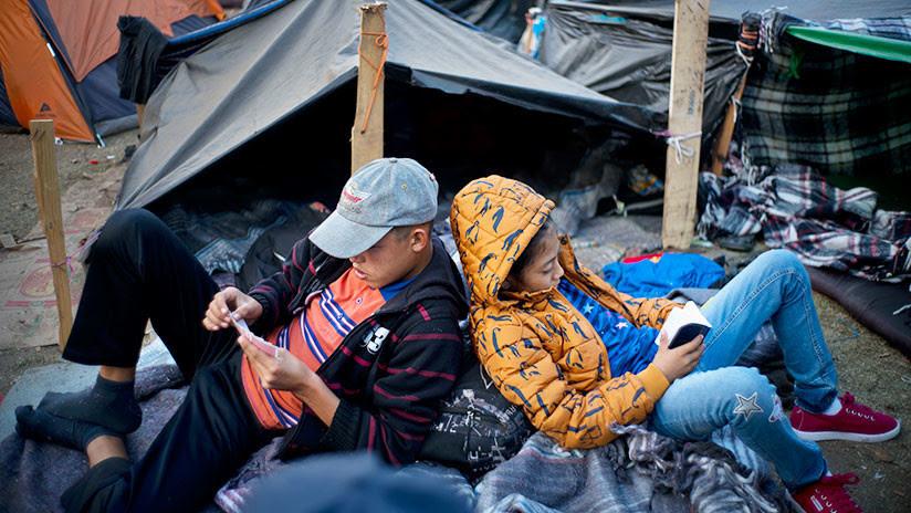 Migrantes de la caravana podrían declararse en huelga de hambre para obtener asilo en EE.UU.