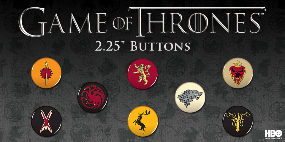 "Game of Thrones 2.25"" Buttons"
