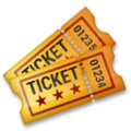 Admission Tickets on LG G5