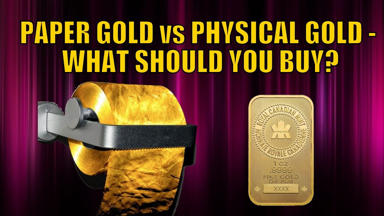 Paper Gold vs Physical Gold – What Should You Buy?