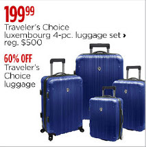 luxembourg 4pc luggage set