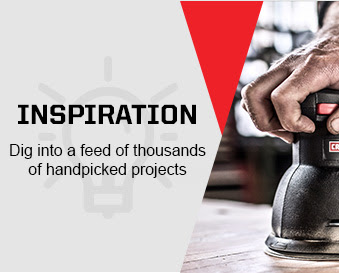 INSPIRATION | Dig into a feed of thousands of handpicked projects