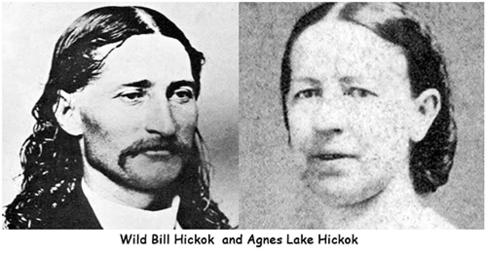 Wild Bill Hickok Married