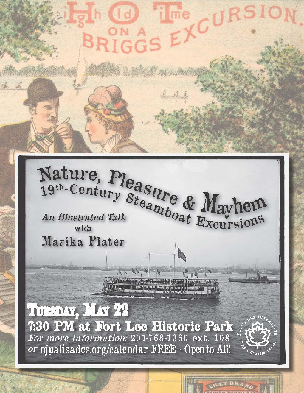 Nature, Pleasure & Mayhem: 19th-Century Steamboat Excursions