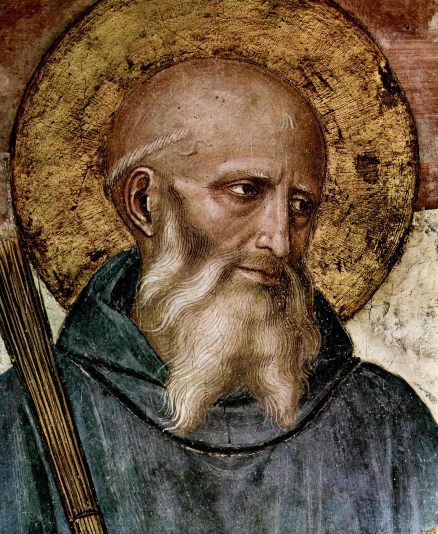 San Benito de Nursia, h. 1437-46.