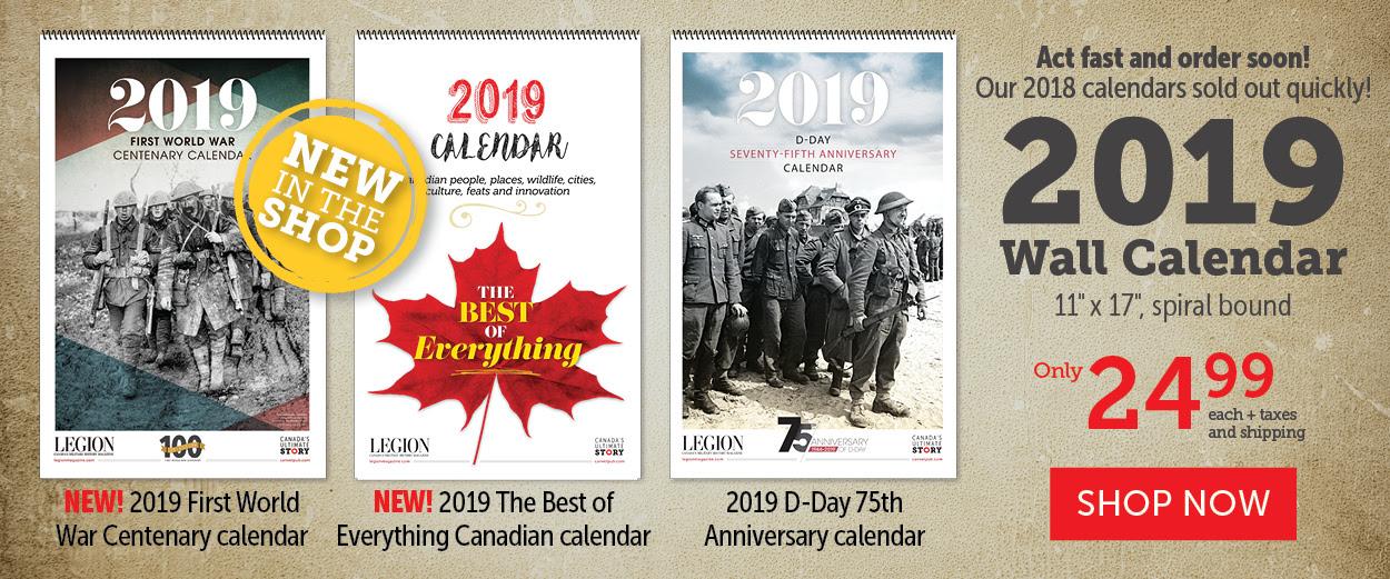 Wall Calendar 2018 - Most Popular!