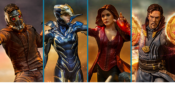AVENGERS: ENDGAME 1/10 ART SCALE BATTLE DIORAMA SERIES STATUES