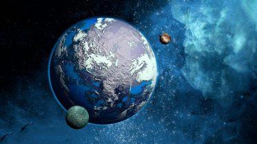 Super Earth Illustration