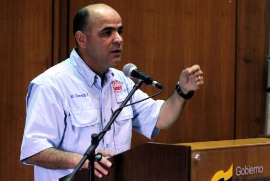 Manuel Quevedo, Ministro de Hábitat y Vivienda