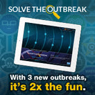 Solve the Outbreak image-3 outbreaks and 2x the fun