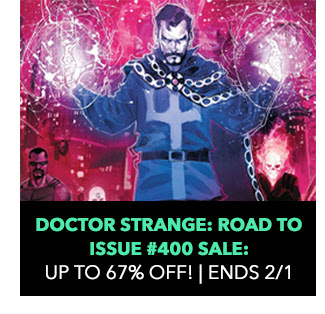 Doctor Strange: Road to Issue #400 Sale: up to 67% off! Sale ends 2/1.