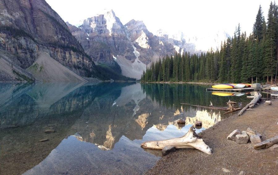 Λίμνη Moraine, Banff National Park, Καναδάς