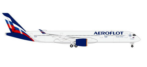 570978   Herpa Wings 1:200 1:200   Airbus A350-900 Aeroflot VQ-BFY   is due: September 2020