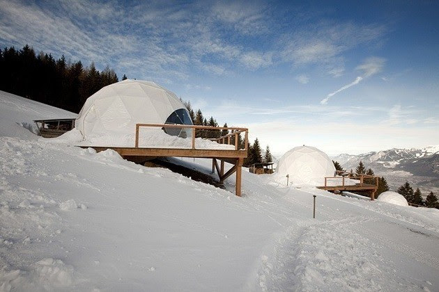 WHITEPOD ECO-LUXURY HOTEL IN THE SWISS ALPS VIP Hospitality Services