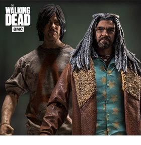 THE WALKING DEAD TV FIGURES