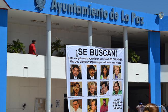 Regidores Ayuntamiento La Paz
