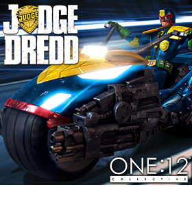 JUDGE DREDD FIGURES