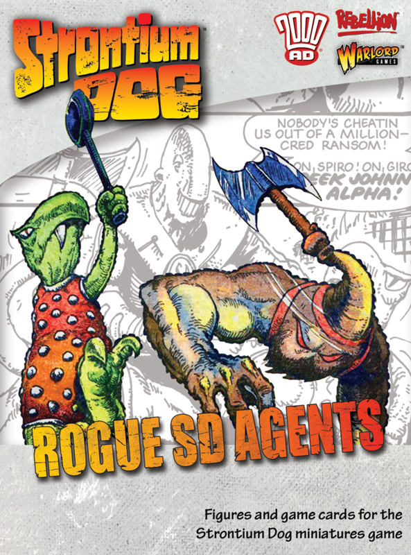New Strontium Dog Rouge SD Agents