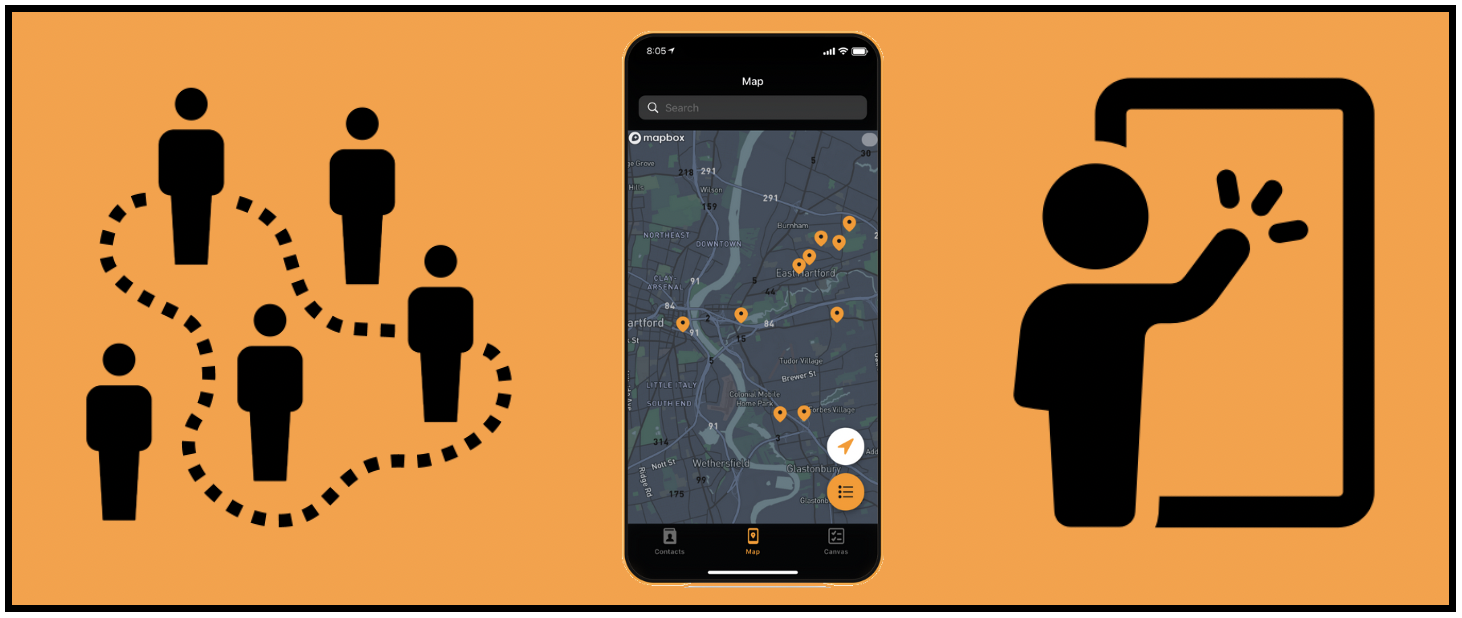 Grassroots canvassing made simple with free app