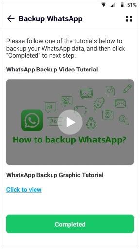 sauvegarde whatsapp